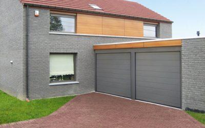 Nouveauté : portes sectionnelles gamme 80